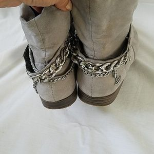 Juicy Couture Shoes - Juicy Couture gray ankle boots